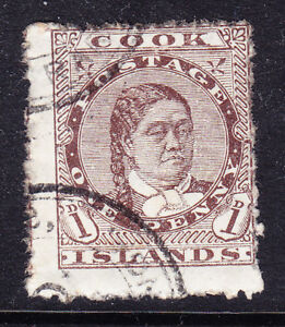 COOK-IS-1893-SG5-1d-brown-perf-12-x-111-2-fine-used-off-centre-Cat-55