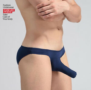 men-039-s-underwear-GAY-Modal-039-s-nose-briefs-Elephant-Penis-Pouch-Boxers-Shorts-S-XL
