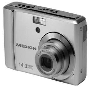 Medion Life MD 86388 Digitalkamera 14MP 3xoptischer 5xdigitaler Zoom Silber - Werne, Deutschland - Medion Life MD 86388 Digitalkamera 14MP 3xoptischer 5xdigitaler Zoom Silber - Werne, Deutschland