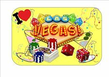 Las Vegas Sign Vintage Style Las Vegas Sign USA craps sign I Love Las Vegas Sign