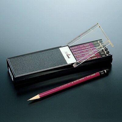 Mitsubishi Pencil Uni Wooden Pencil 2B Box of 12 w//Tracking# New Japan
