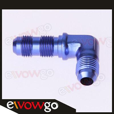 8AN AN-8 AN8 Straight AN Bulkhead Adpater Fitting Adaptor Aluminum Black