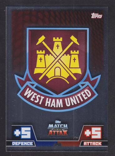 Match Attax 2014//2015-Insignia Del Club 343 West Ham