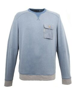 60 Sky Cover Blue £ And Duck Sweatshirt Size Bnwt Large Rrp UqvIvH