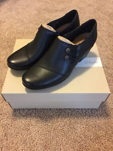 065f79906ac Image is loading NEW-Women-039-s-Clarks-Emslie-Warren-black-