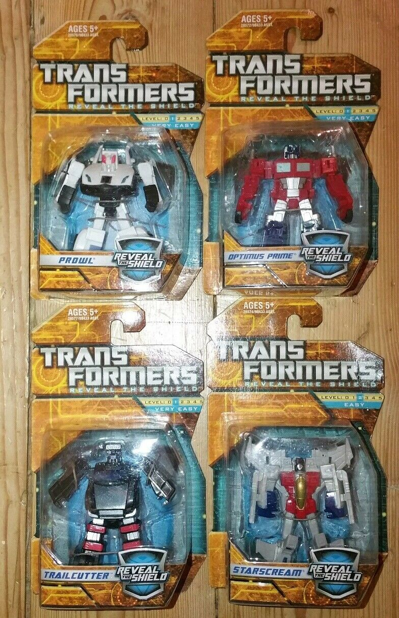 Transformers Reveal The Shield Legends Starscream Prowl Prime Trailcutter New