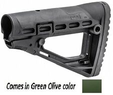 SBS-S CAA Tactical OD Green Polymer Skeleton Style Collapsible Stock