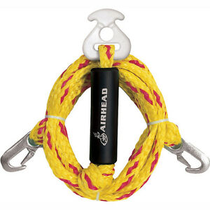 AIRHEAD-Heavy-Duty-Tow-Harness-Wakeboarding-Water-Skiing-12-039-Rope-AHTH-2-NEW