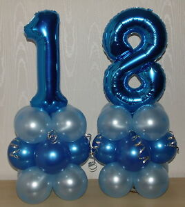 Image Is Loading 18th BIRTHDAY AGE 18 MALE BOY FOIL BALLOON