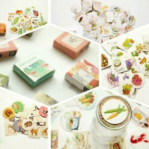 Kawaii-Boxed-Flowers-Stickers-Cute-Cat-Planner-Scrapbooking-Stationery-Japanese