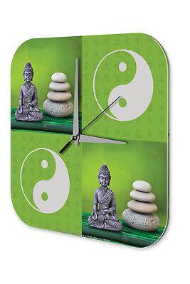 Cordiale Orologio Da Parete Chiesa Yin Yang Buddha Acrilico Decorazione Muro Orologio Nostalgia-mostra Il Titolo Originale Dolcezza Gradevole