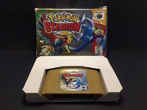 Pokemon-Stadium-2-Nintendo-64-Boxed-Game-N64-PAL-Box-amp-Cartridge