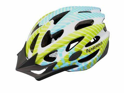 NEXELO STRAIGHT MATT Bicycle Helmet Bike M-L