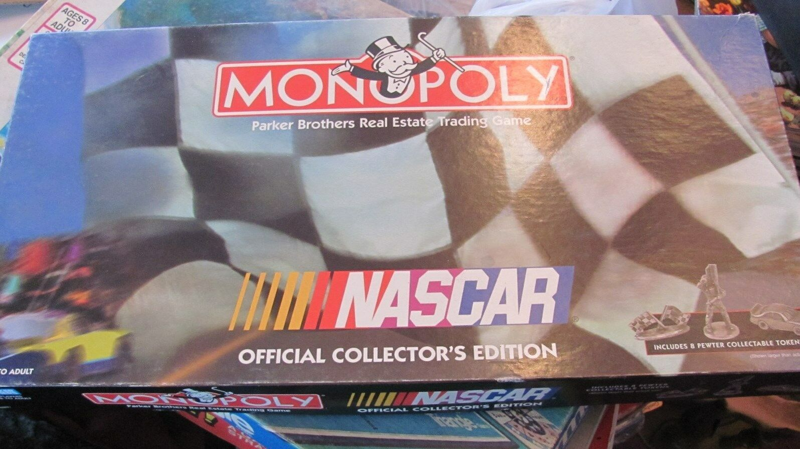 Monopoly Nascar official collector's edition COMPLETE great condition