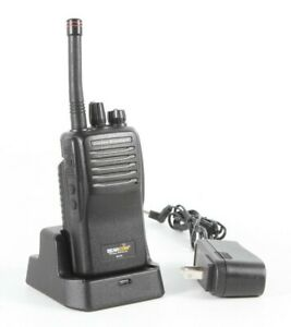 Bearcom-Motorola-BC95-8-Channel-UHF-Handheld-Two-Way-Radios-w-Charger-amp-Adapter