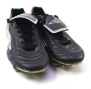 Umbro-Garcons-Taille-UK-4-NOIR-Chaussures-de-Football