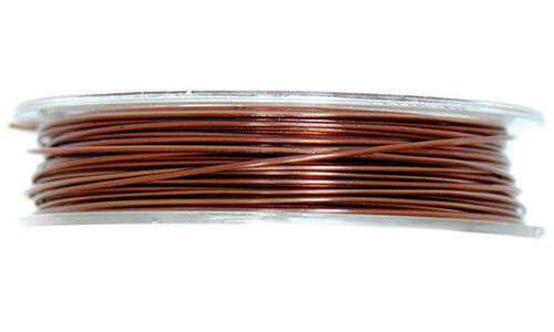 5m x 0.5mm The Craft Factory Coloured Brass Wire