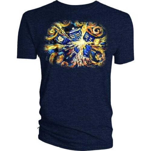 Van Gogh Exploding TARDIS T-Shirt Doctor Who