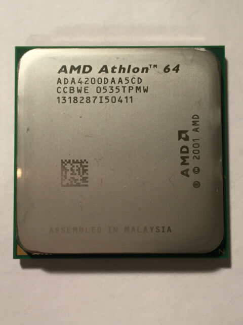 AMD Athlon 64 X2 Socket 939 4200+ Dual Core CPU ADA4200DAA5CD Never Used