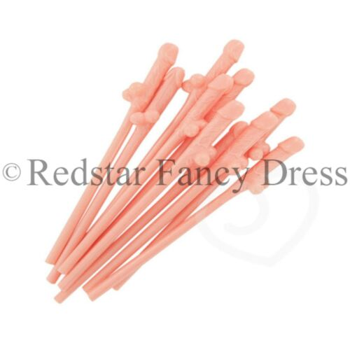 HEN PARTY WILLY STRAWS HEN NIGHT OUT NOVELTY SUCKING STRAWS