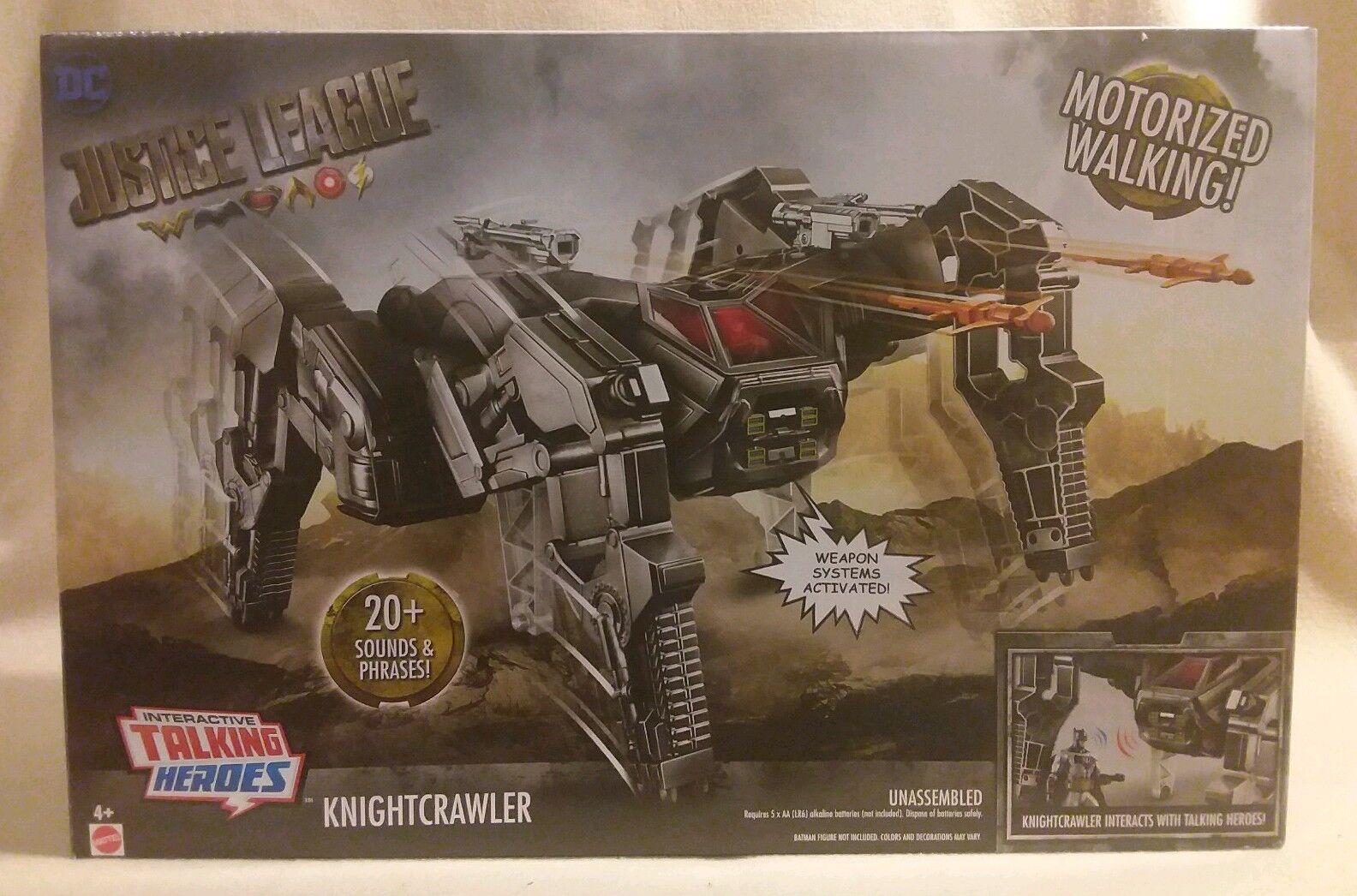 DC Justice  League  Knight Crawler  Motorized Walker Mattel Toys 2017  sortie de marque