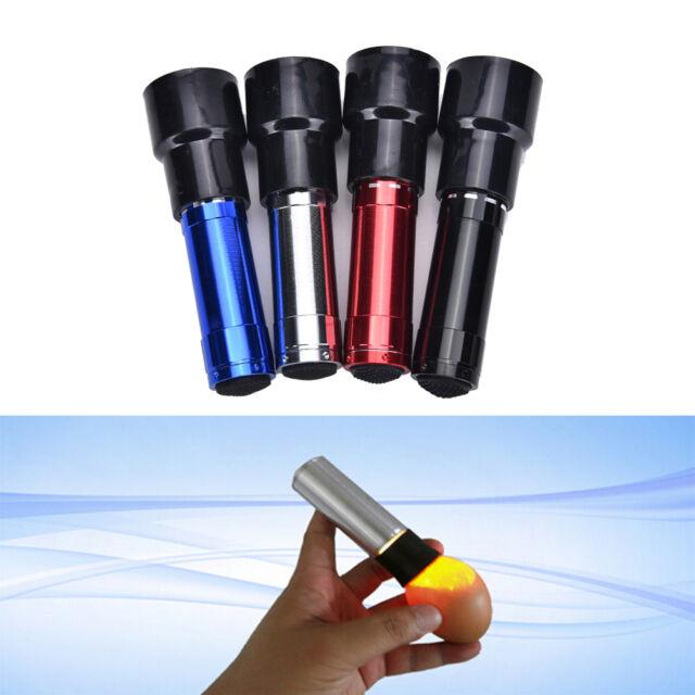 LED Light Egg Candler Tester Ultra Bright Pocket Poultry Egg Lamp Incubator  EB