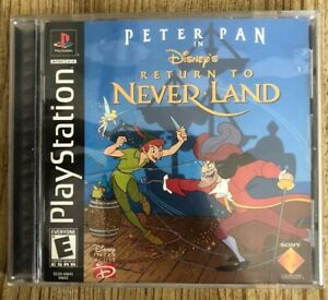 Disney-s-Peter-Pan-Return-To-Never-Land-Ps1-Playstation-1-Complete