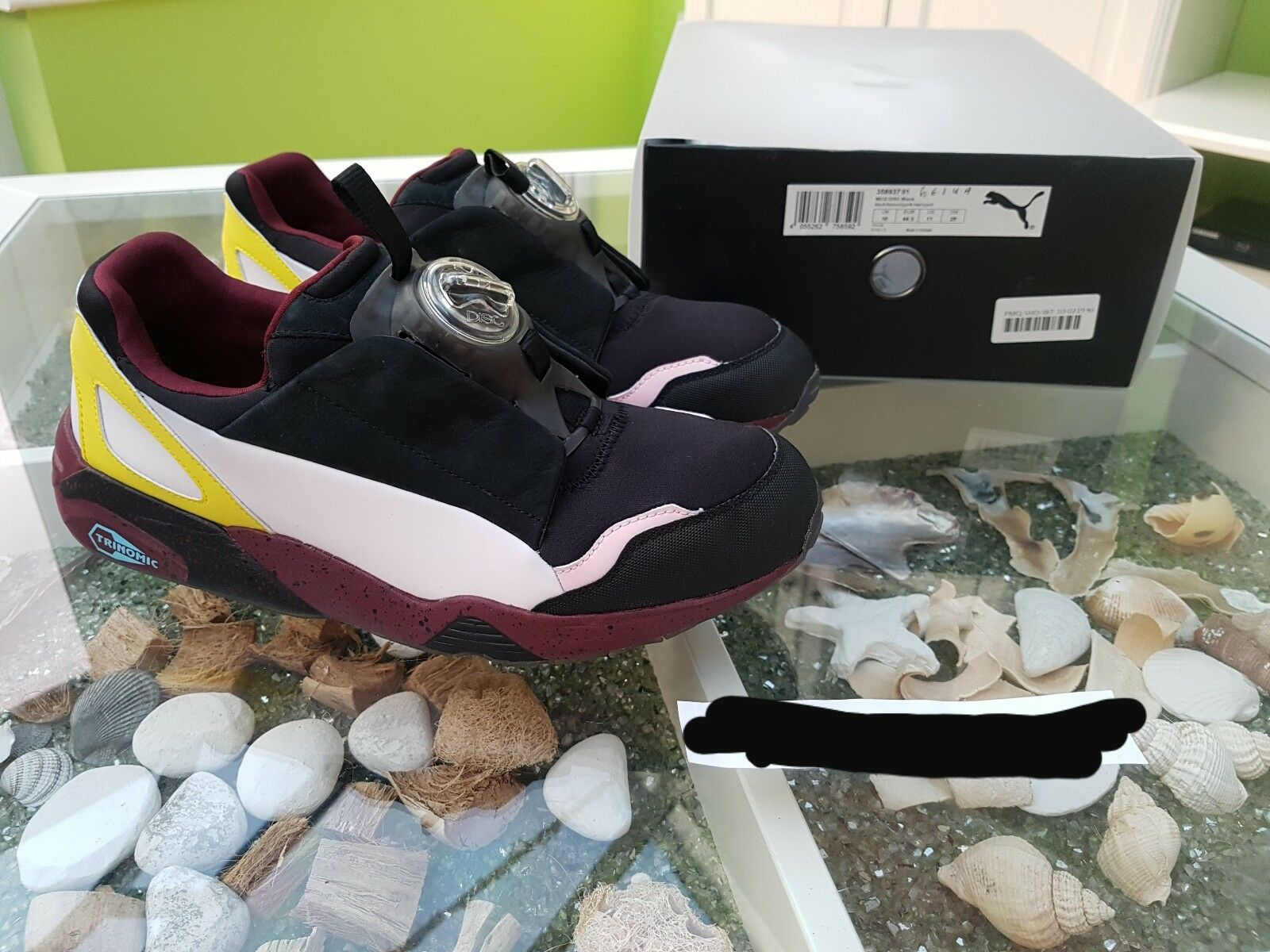 Alexander McQueen X Puma Disc Trainers Uk10 Us11 Eu44.5