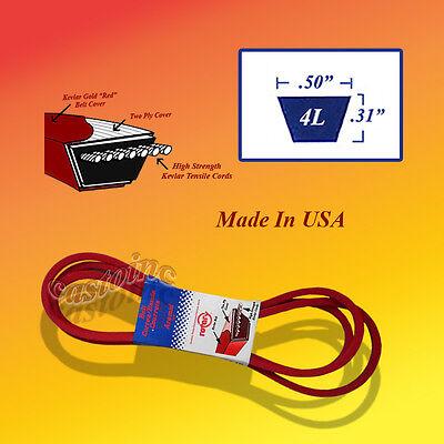 Premium V-Belt 4L780 1//2x78 Fits Cub Cadet 754-3004 754-3028 954-3004 954-3028