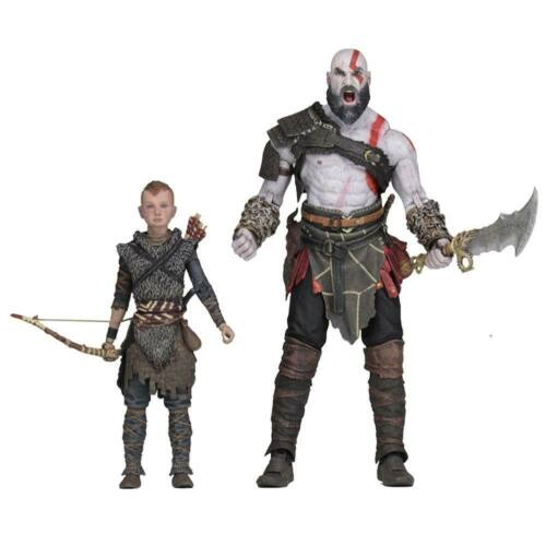 God of War 2018 pack 2 figurines Ultimate Kratos & Atreus Neca