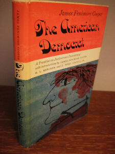 Reprint-Edition-AMERICAN-DEMOCRAT-James-Fenimore-Cooper-JACKSONIAN-History
