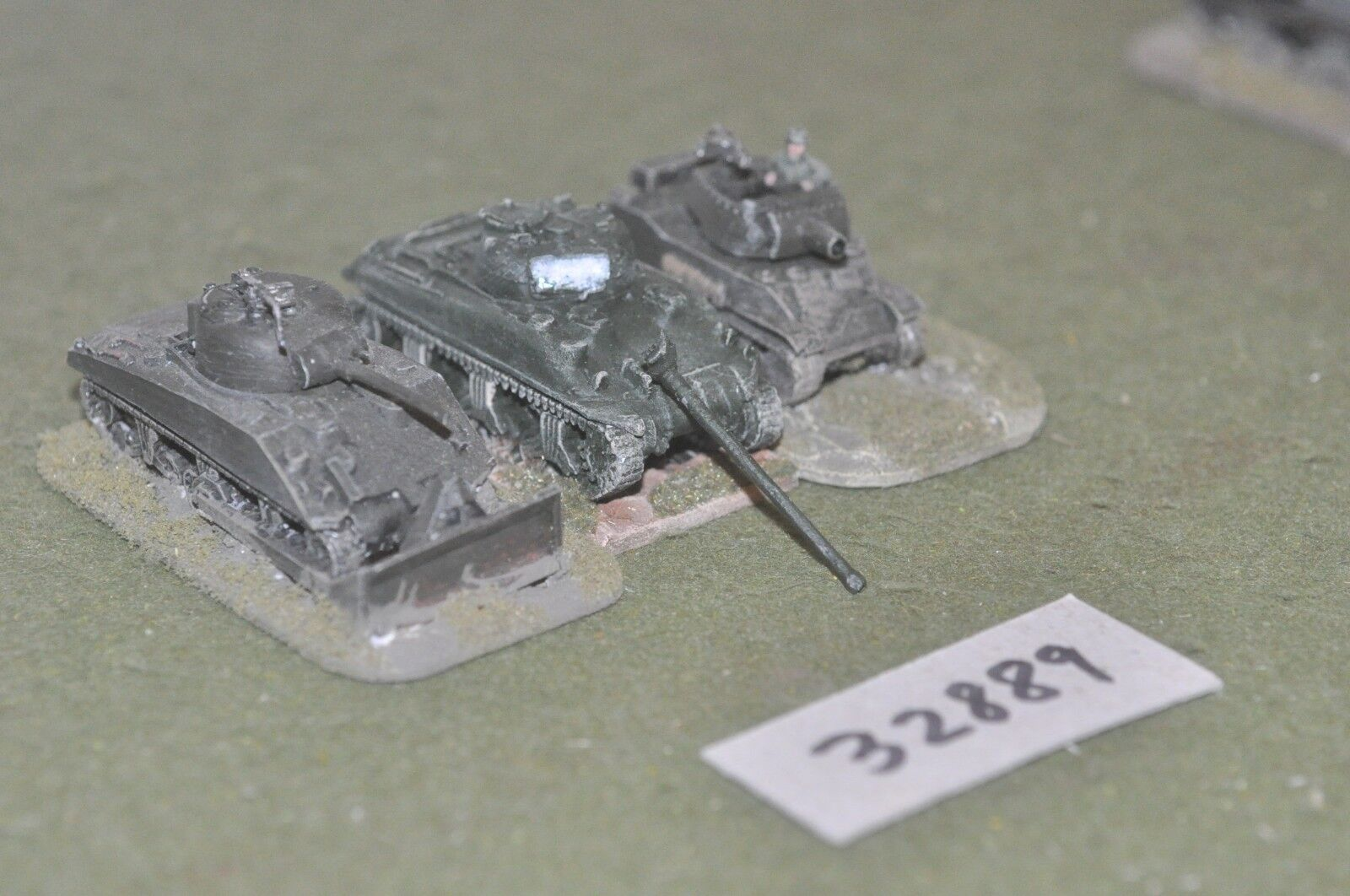 15mm WW2   allied - 3 tanks - vehicles (32889)