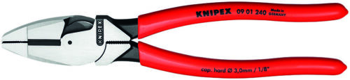 "Knipex 9/"" Lineman/'s Pliers High Leverage New England Style 0901240"