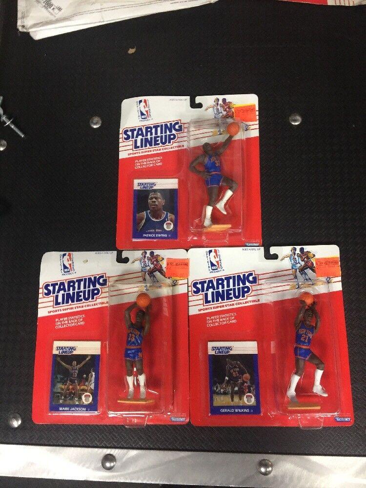 se descuenta Estrellating lineup 1988 Nueva York Knicks completa completa completa Ewing-Jackson-Wilkins  100% a estrenar con calidad original.
