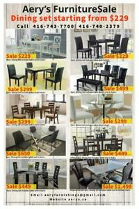 Huge Furniture Sale! Dining Set, Bedroom Set, Sofa, Chairs! Book your order online call us at 416-743-7700, 416-740-2379 Toronto (GTA) Preview