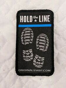 New GLOCK patch Thin blue line Shot Show 2020