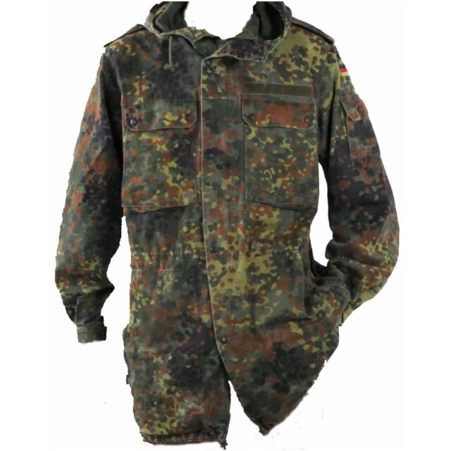 German Flecktarn Parka Jacket