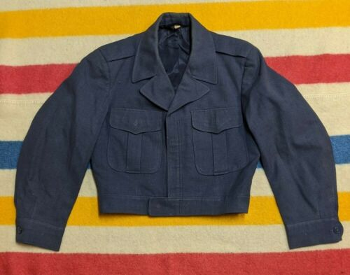 VTG 40s Franklin Clothes Inc. USA Cropped Military