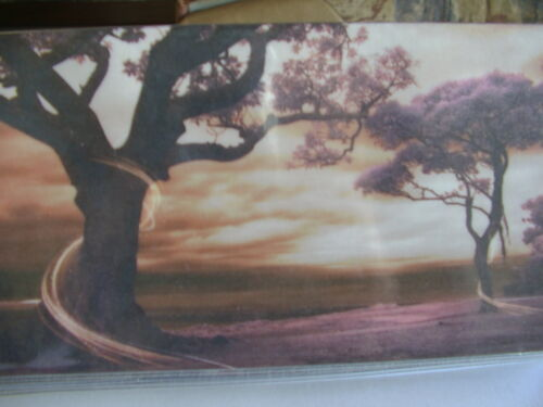 Two beautful Trees vinyl Checkbook cover