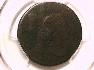 1795 Large Cent PCGS Genuine Damage P/FR Detail Plain Edge 39532132