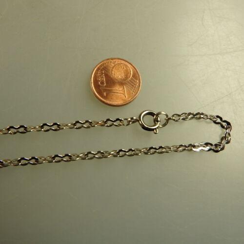 Doppelflachanker Collier Halskette Alpacca 2,3 mm 43 cm (41457)