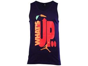 0e62bb7781ca15 Jordan Men s Nike AJ VII WB Hare Tank Top Size 2XL   666291 535 PRP ...