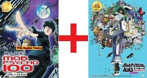 ANIME-DVD-Mob-Psycho-100-Season-1-2-1-25End-Eng-sub-All-region-FREE-SHIP-SKU3