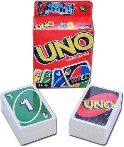 2019 Super Impulse World S Smallest Uno Card Game New For Sale Online Ebay