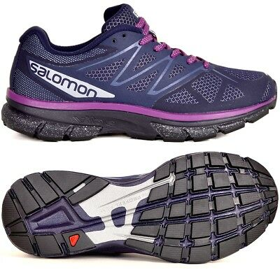 Salomon SONIC NOCTURNE W Damen Laufschuhe Wander Schuhe Outdoor Shoes blaupink   eBay