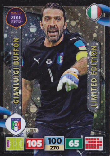 Panini Adrenalyn XL Road to World Cup 2018-LIMITED EDITION AU CHOIX