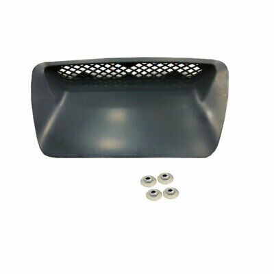 4 Retainer Nuts 7 Clips Included G-PLUS 1PCS Hood Scoop Molding Bezel Replacement for Dodge Ram 1500 SRT 2004-2005