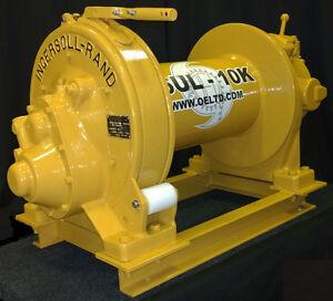 classic ingersoll rand k6ul 10 000lb air tugger winch rebuilt w rh ebay com