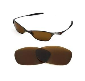 6d2b6e7e1c Image is loading NEW-POLARIZED-BRONZE-REPLACEMENT-LENS-FOR-OAKLEY-VINTAGE-