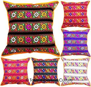 Image Is Loading New 24 034 X Embroidered Cushion